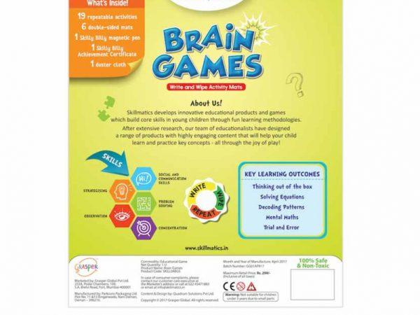 Brain Games (6-99 Years) - Robbie Toys