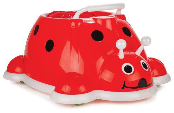 Ladybug baby walker